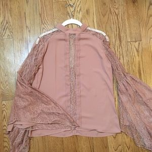 EXPRESS, long sleeve blouse sz M